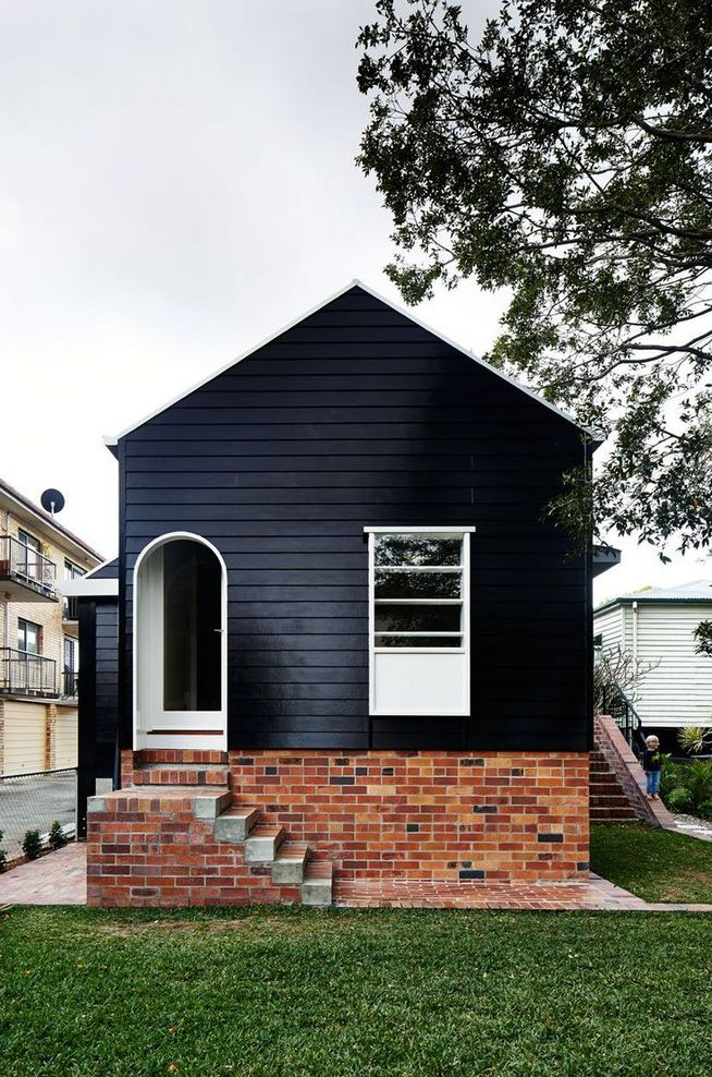 18 Best Ideas For Black House Exterior Design 38