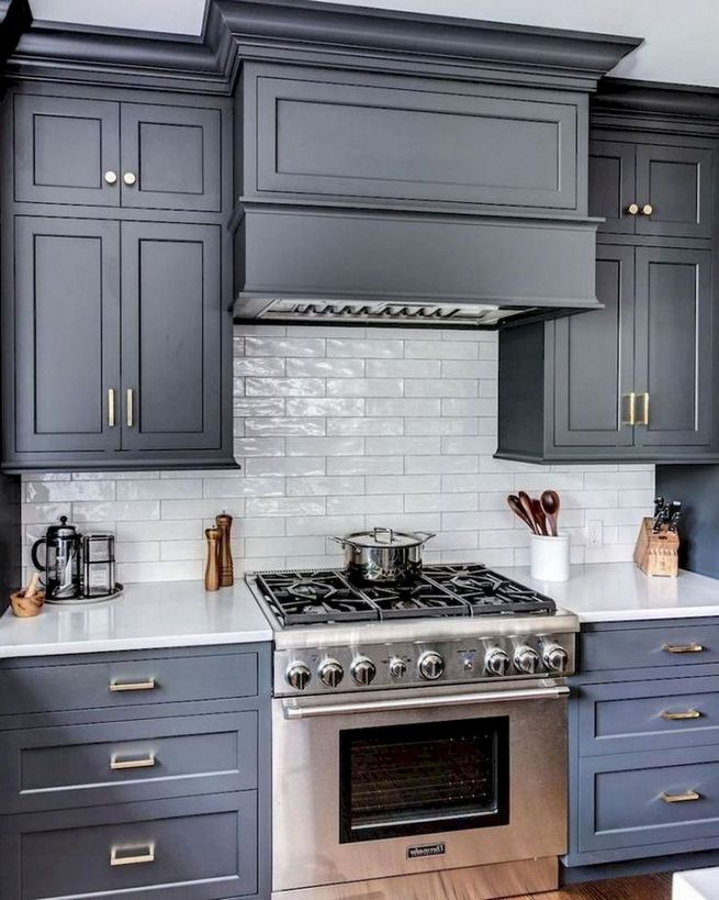 18 Easy Kitchen Cabinet Painting Ideas 12