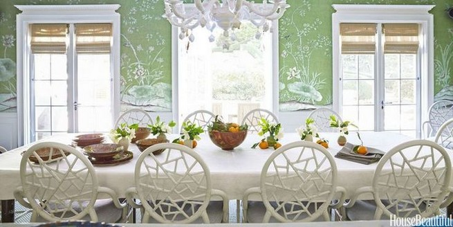 22 Easy Green Dining Room Design Ideas 22