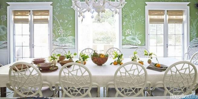 22 Easy Green Dining Room Design Ideas 22