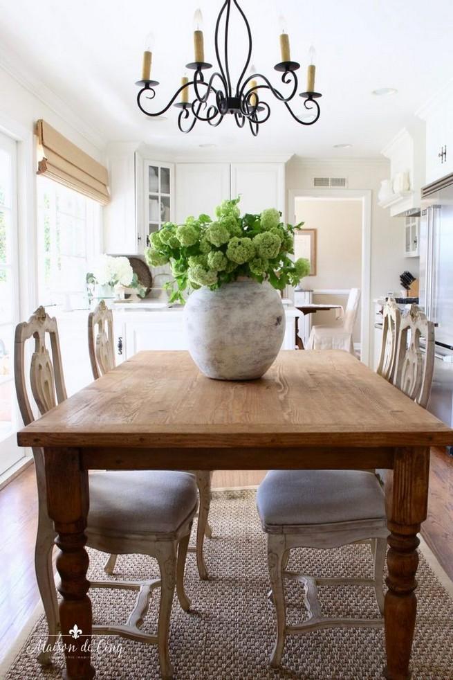 22 Easy Green Dining Room Design Ideas 25