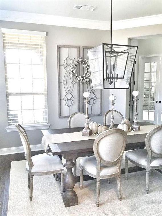 22 Stylish Modern Farmhouse Dining Room Remodel Ideas 01