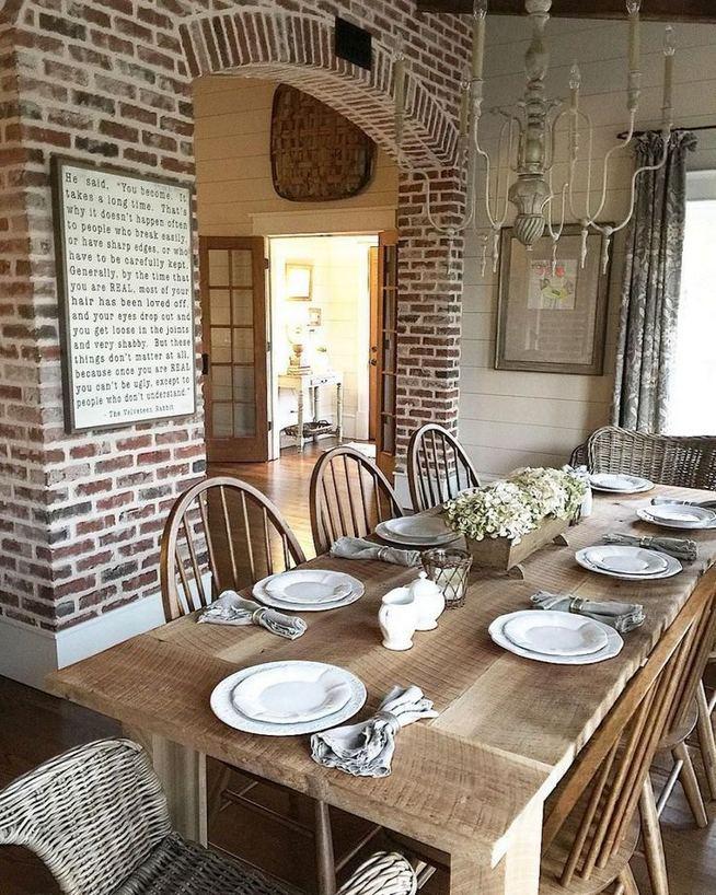 22 Stylish Modern Farmhouse Dining Room Remodel Ideas 22