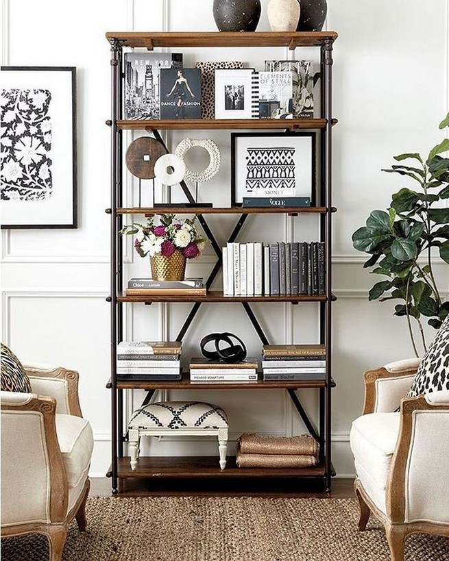 23 Awesome Industrial Wall Bookshelves Designs Ideas 16