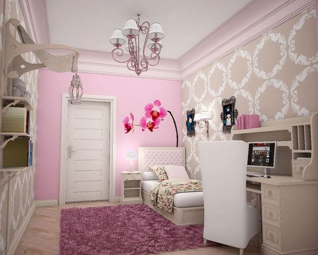 23 Cozy Cute Pink Bedroom Design Decor Ideas For Kids 13