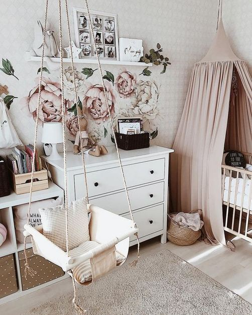 23 Cozy Cute Pink Bedroom Design Decor Ideas For Kids 16
