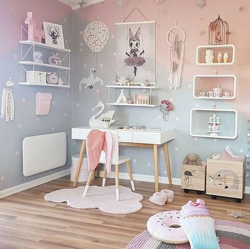 23 Cozy Cute Pink Bedroom Design Decor Ideas For Kids 38