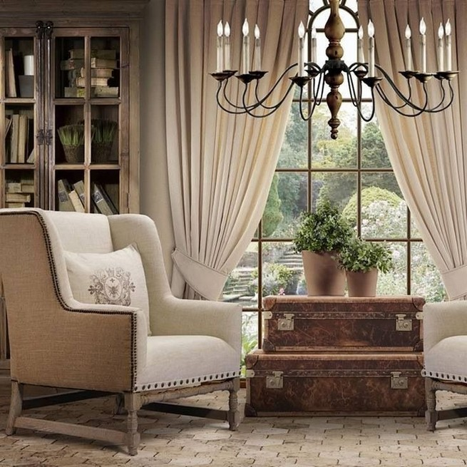 23 Wonderful French Country Living Room Decoration Ideas 32