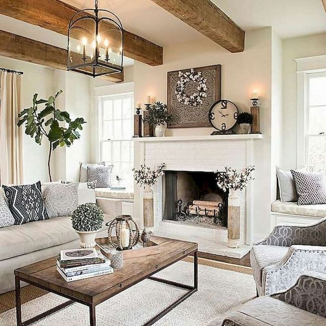 23 Wonderful French Country Living Room Decoration Ideas 57