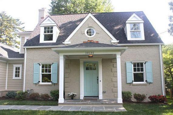 24 Adorable Brick House Exterior Makeover 27