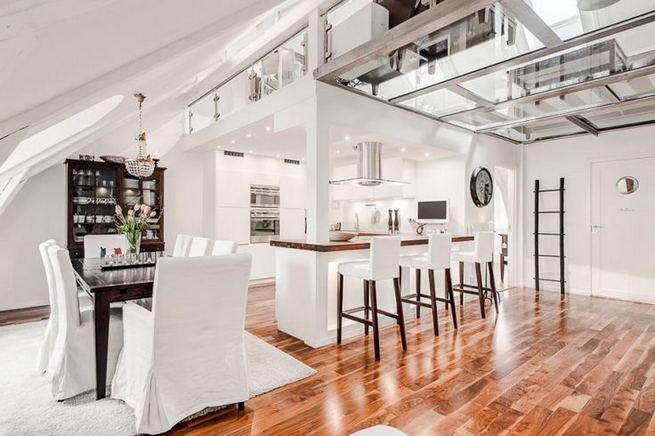 24 Impressive Glass Ceiling Indoor Design Inspiration Ideas 14