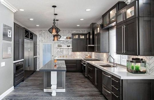 25 Best Ideas For Black Cabinets In Kitchen 07