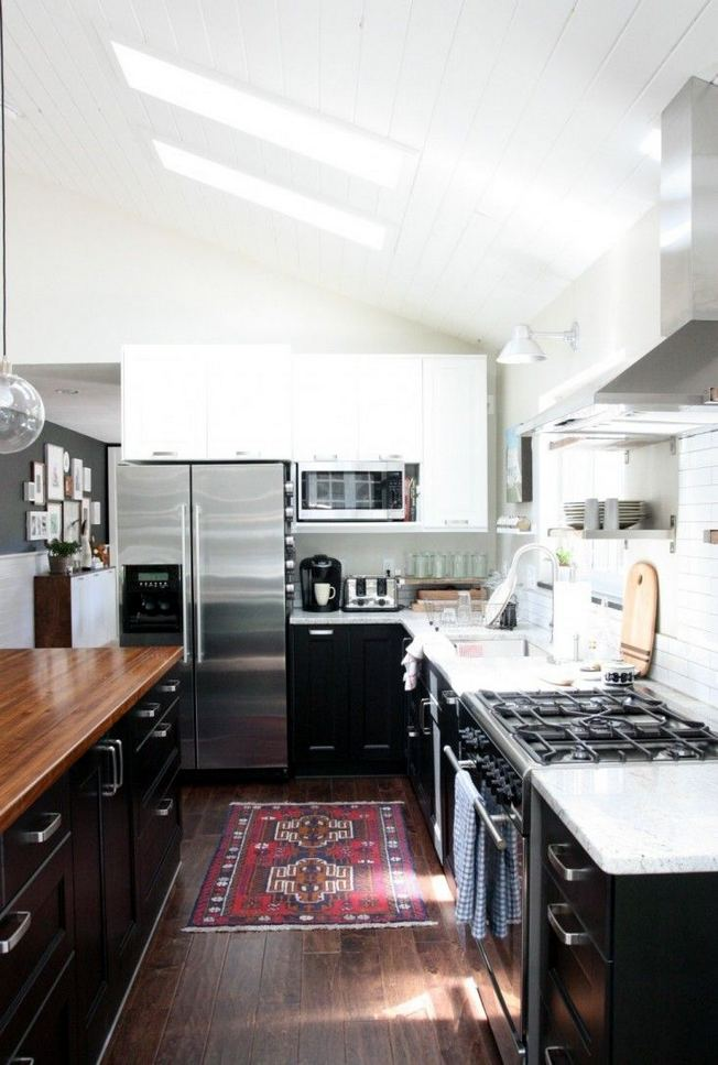 25 Best Ideas For Black Cabinets In Kitchen 31