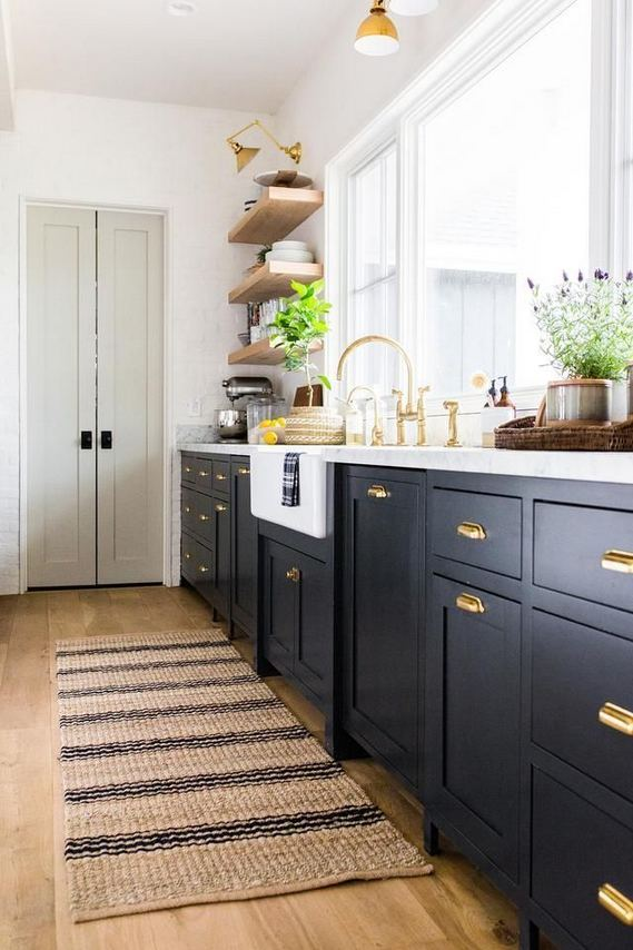 25 Best Ideas For Black Cabinets In Kitchen 37