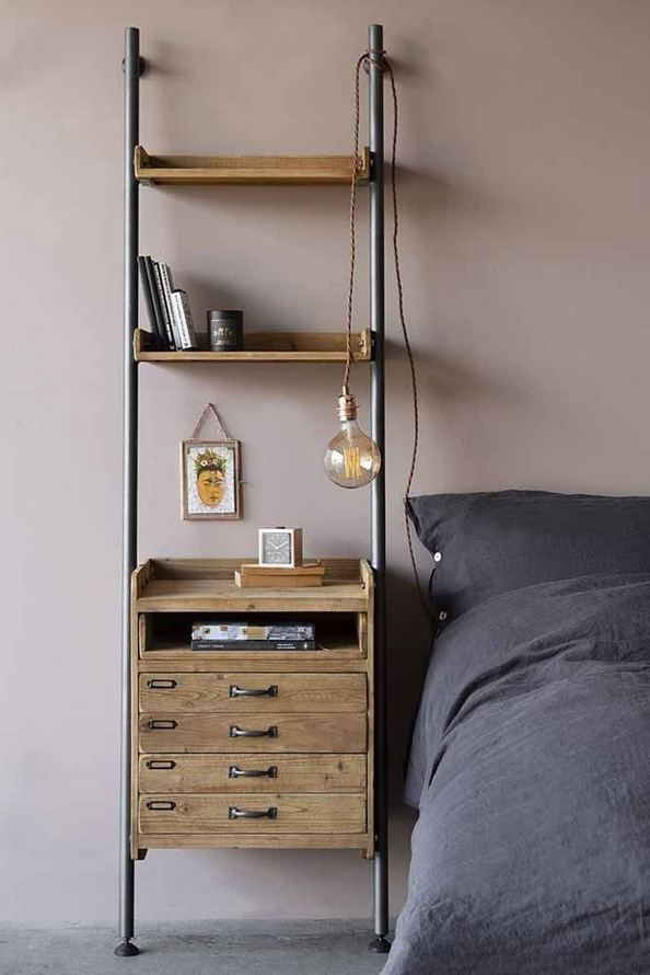 12 Stylish Industrial Style Bedroom Design Ideas 15