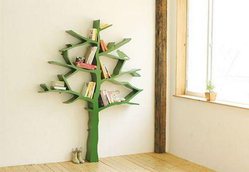 12 Totally Inspiring Tree Bookshelf Design Ideas 02