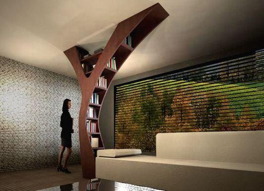 12 Totally Inspiring Tree Bookshelf Design Ideas 13