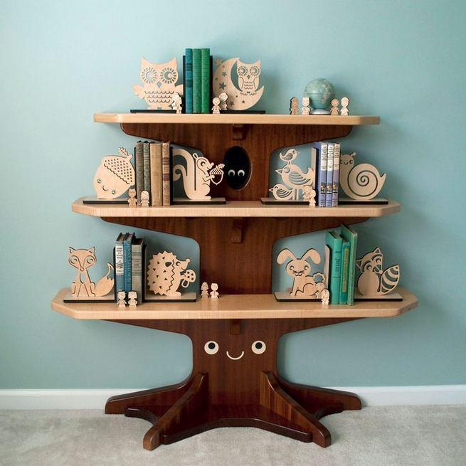 12 Totally Inspiring Tree Bookshelf Design Ideas 24