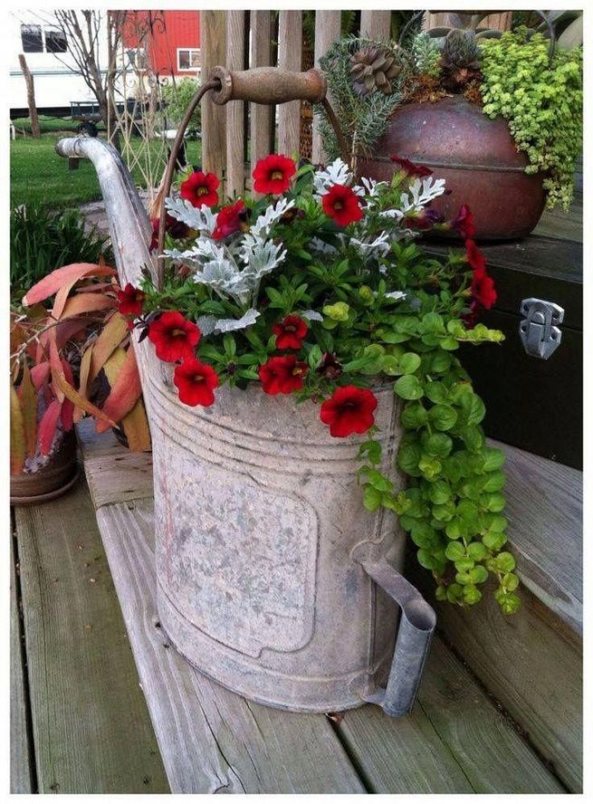 13 Brilliant Flower Pots Ideas For Your Garden 28