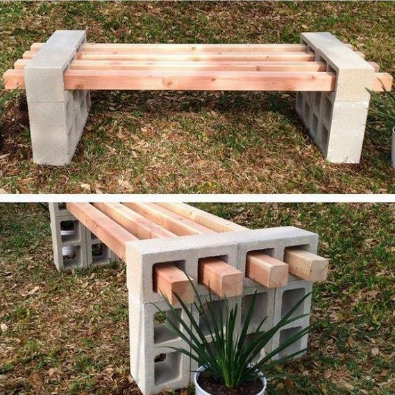 13 Creative Ways To Decorate Your Garden Home Using Cinder Blocks 32