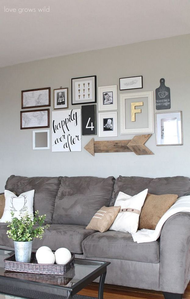 13 Easy And Cheap Wall Gallery Ideas For A Perfect Wall Decor 16