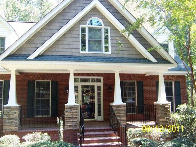 13 Fantastic Exterior Paint Colors Brown Brick Ideas 22