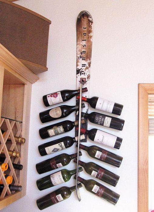 13 Stunning Industrial Wall Wine Rack Designs Ideas 11