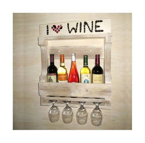 13 Stunning Industrial Wall Wine Rack Designs Ideas 26