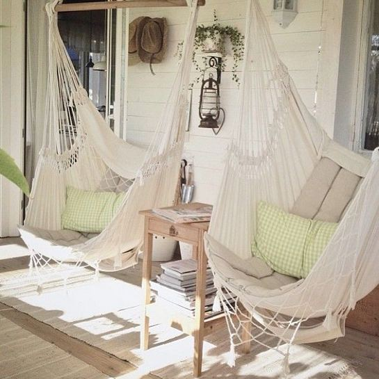 14 Cozy Swing Chairs Garden Ideas 01