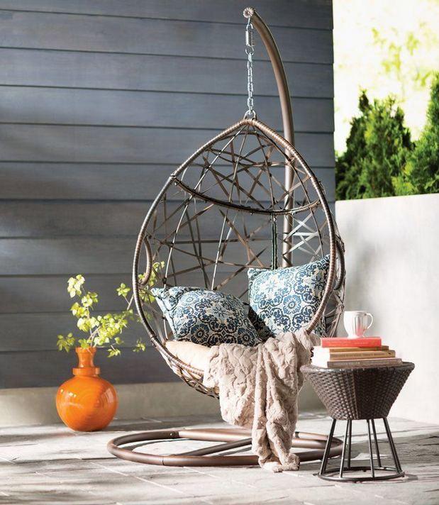 14 Cozy Swing Chairs Garden Ideas 36