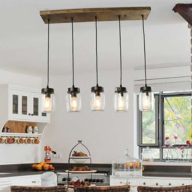 14 Unique Country Kitchen Decor Ideas By Using Mason Jars 07