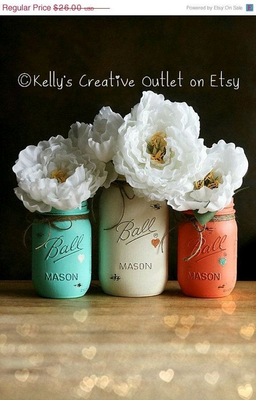 14 Unique Country Kitchen Decor Ideas By Using Mason Jars 29