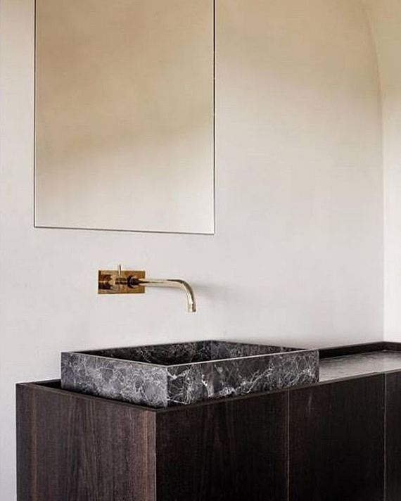15 Inspiring Marble Bathroom Sink Designs For Your Luxury Home 06