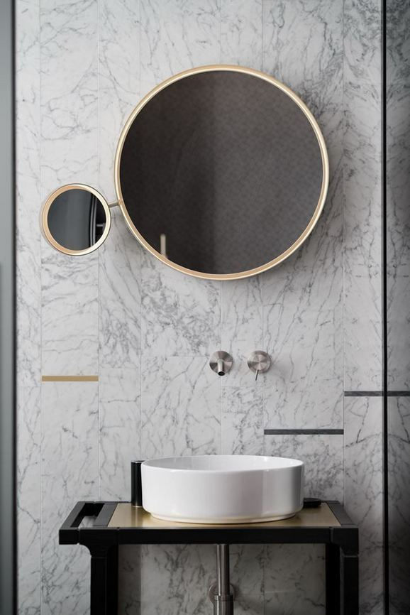 15 Inspiring Marble Bathroom Sink Designs For Your Luxury Home 08