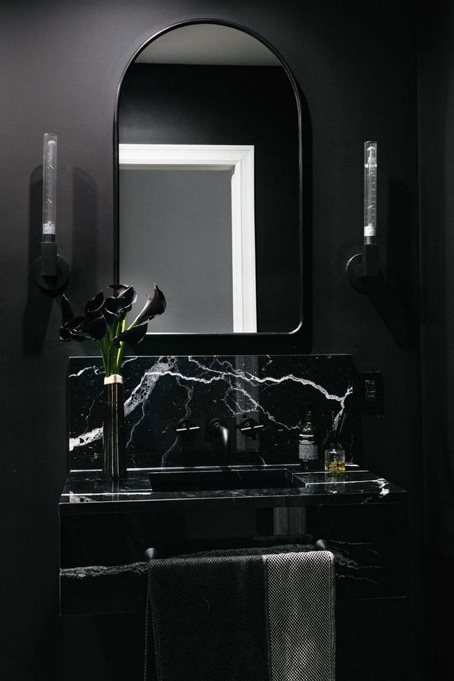 15 Inspiring Marble Bathroom Sink Designs For Your Luxury Home 26