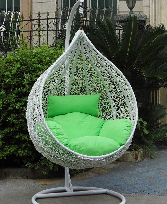 16 Adorable Rattan Hanging Chair Design Ideas 02