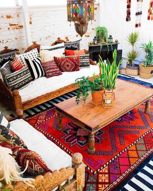 16 Awesome Colorful Moroccan Rugs Decor Ideas 13