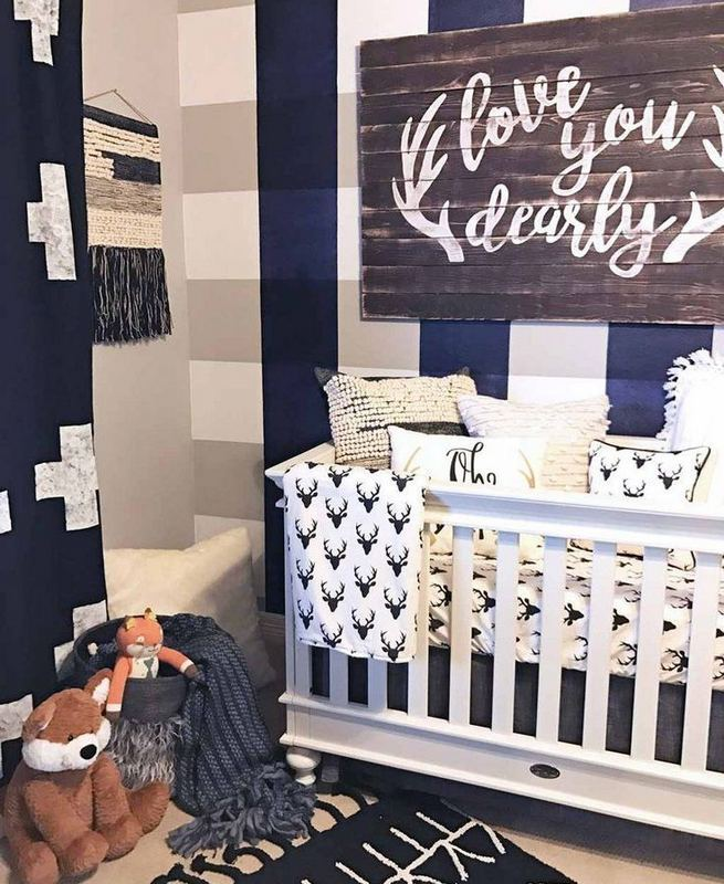 16 Popular Baby Boy Nursery Room With Animal Designs 13