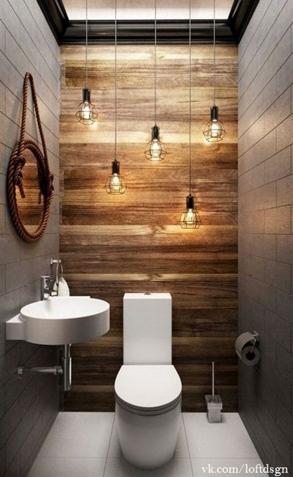 19 Cool Creative Bathroom Wall Shelves Ideas For Small Space 33