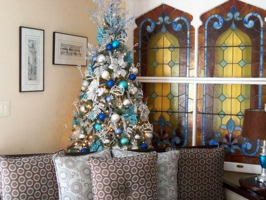 11 Pretty Ideas Christmas Tree Themes Home Decor Everyday 01