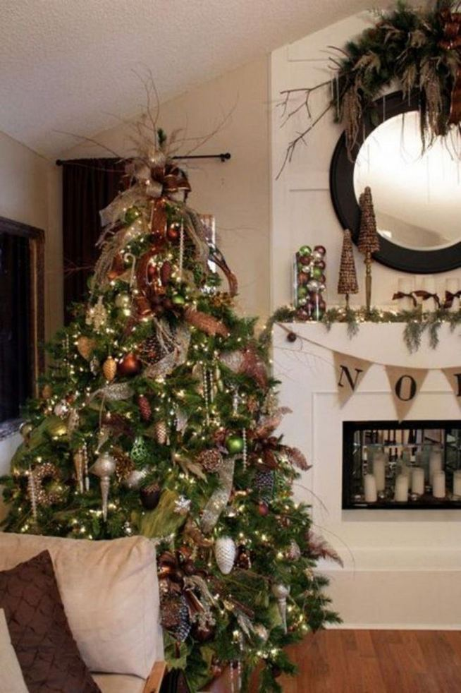 11 Pretty Ideas Christmas Tree Themes Home Decor Everyday 05