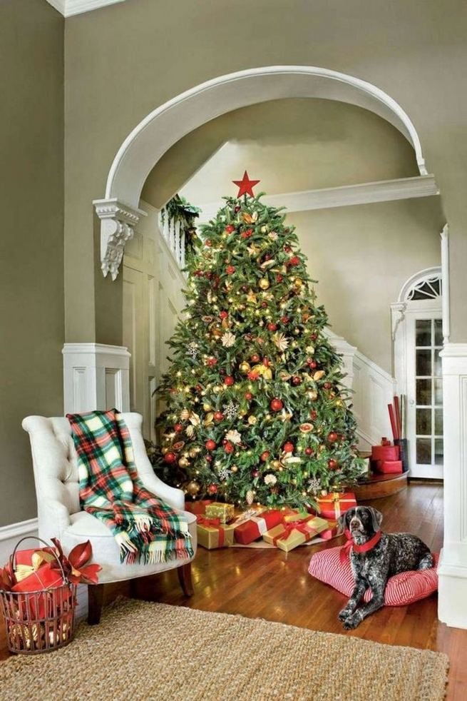 11 Pretty Ideas Christmas Tree Themes Home Decor Everyday 11