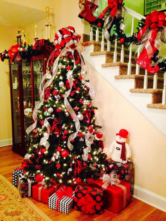 11 Pretty Ideas Christmas Tree Themes Home Decor Everyday 13