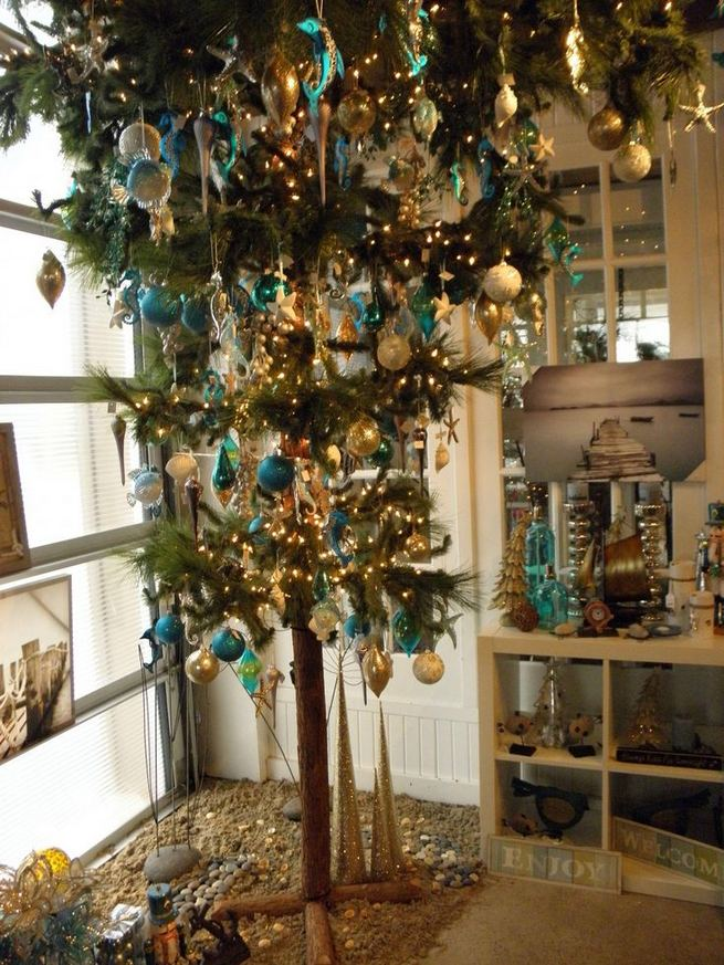 11 Pretty Ideas Christmas Tree Themes Home Decor Everyday 27