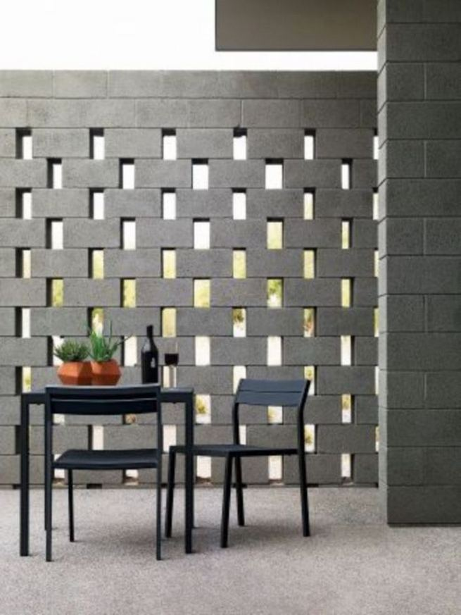 12 Catchy Breeze Block Ideas For Beautiful Home Style 16