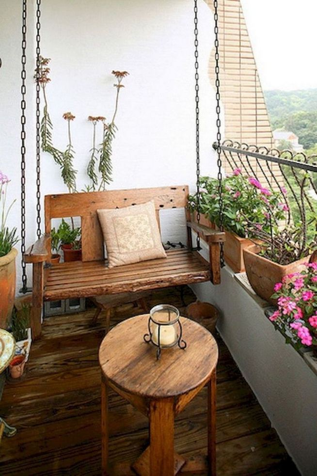 12 Creative Small Apartment Balcony Decorating Ideas On A Budget 35