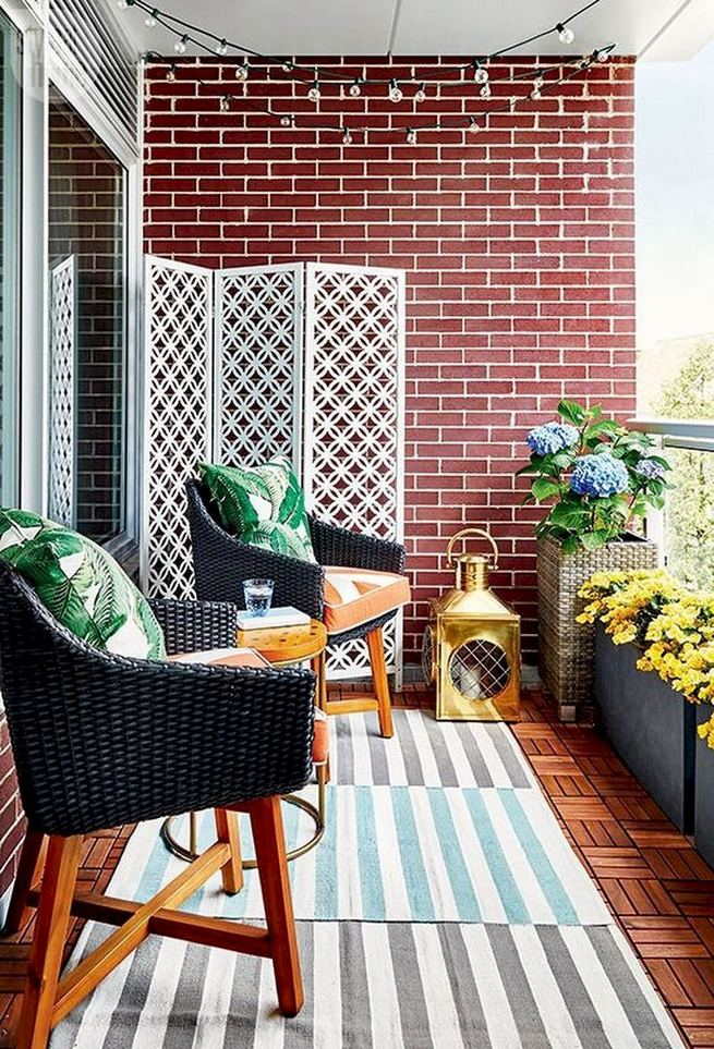 12 Creative Small Apartment Balcony Decorating Ideas On A Budget 36