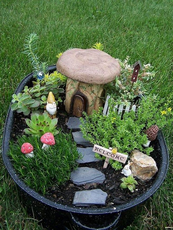 12 Enchanting Fairy Garden Best Ideas 27