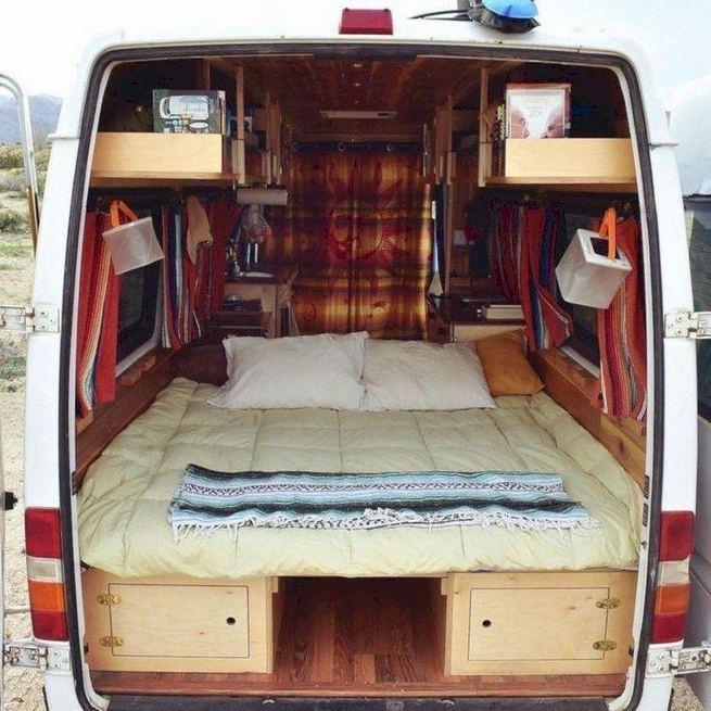 14 Best RV Camper Van Interior Decorating Ideas 16