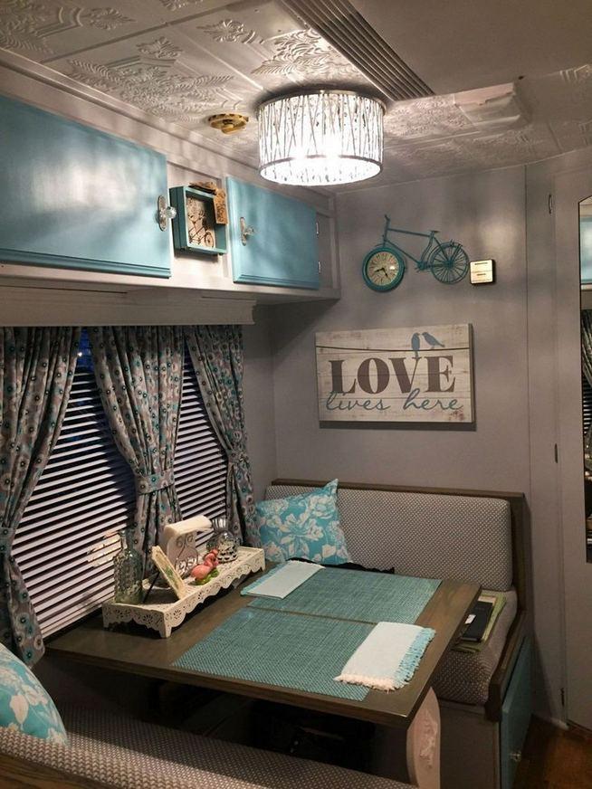 14 Best RV Camper Van Interior Decorating Ideas 37